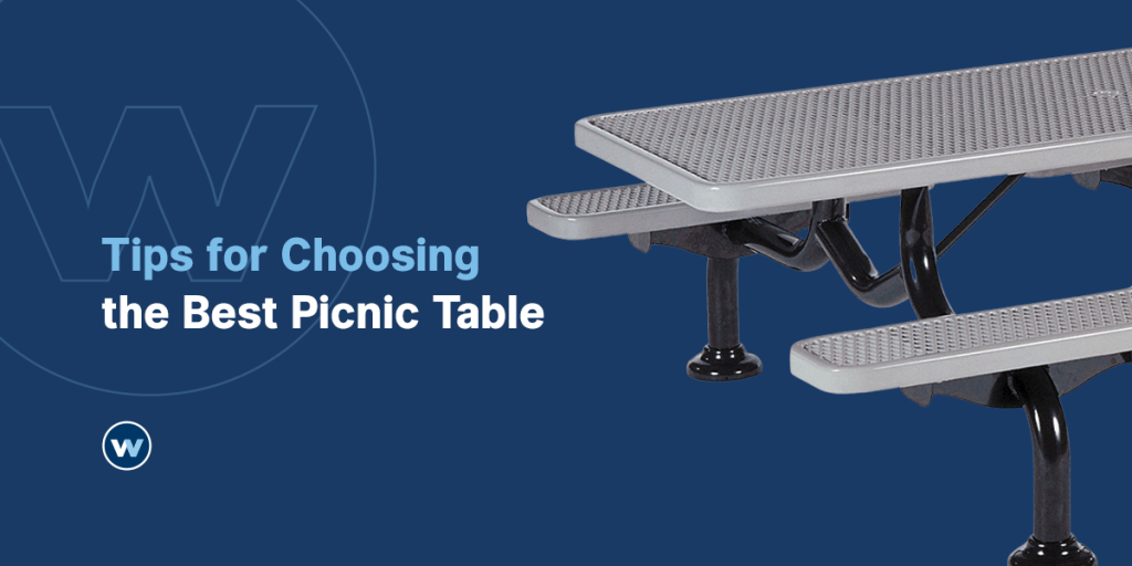 Tips for choosing a picnic table